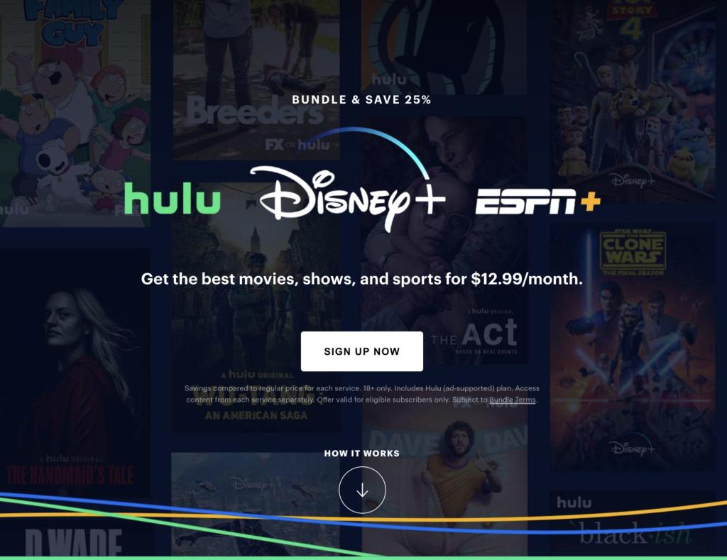 Disney+ Hulu