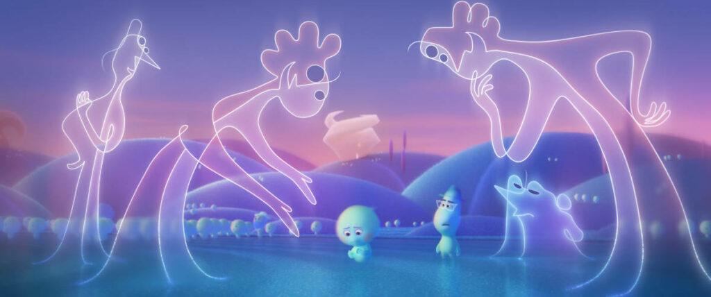Cortometraggio Pixar 22 contro la terra, ambientato prima degli eventi di Soul