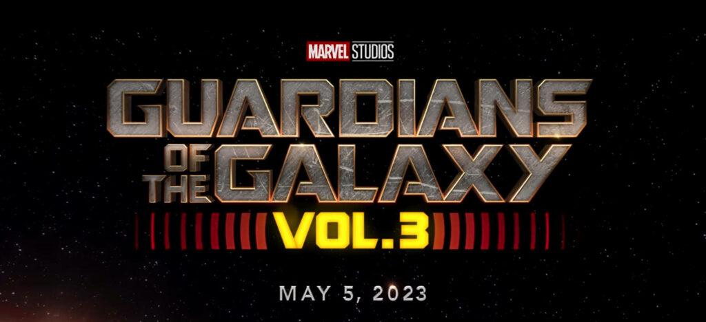 Marvel Guardiani della Galassia volume 3 Uscita del film MCU