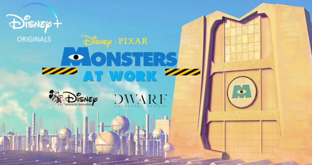Nuovo trailer di Monsters at Work, la nuova serie sequel di Monsters & Co che arriverà in streaming su Disney+ il 2 luglio ispirata dal film Pixar.