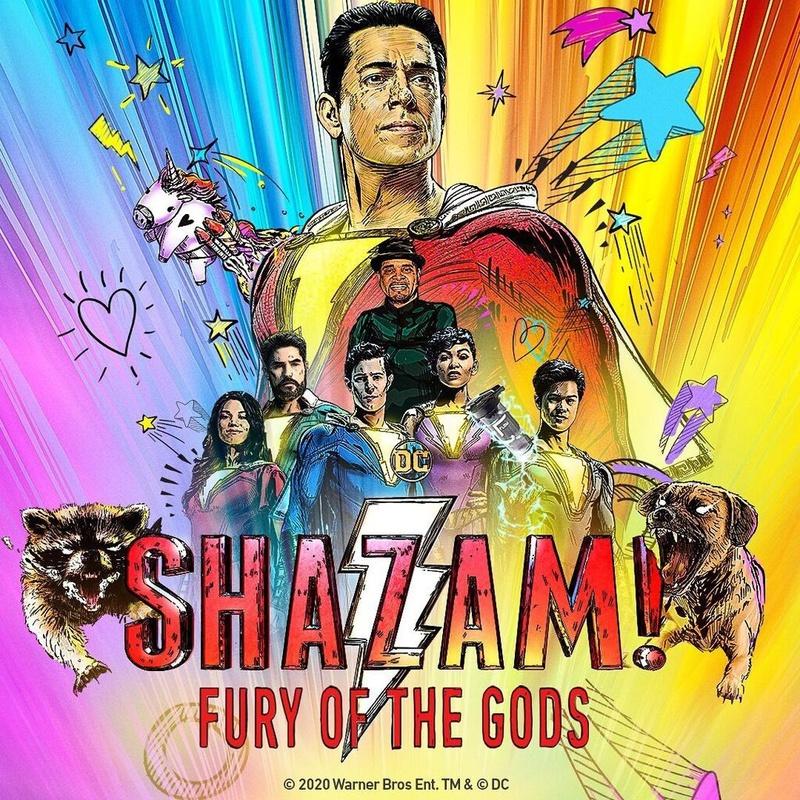 Riprese Shazam 2 Fury of The Gods