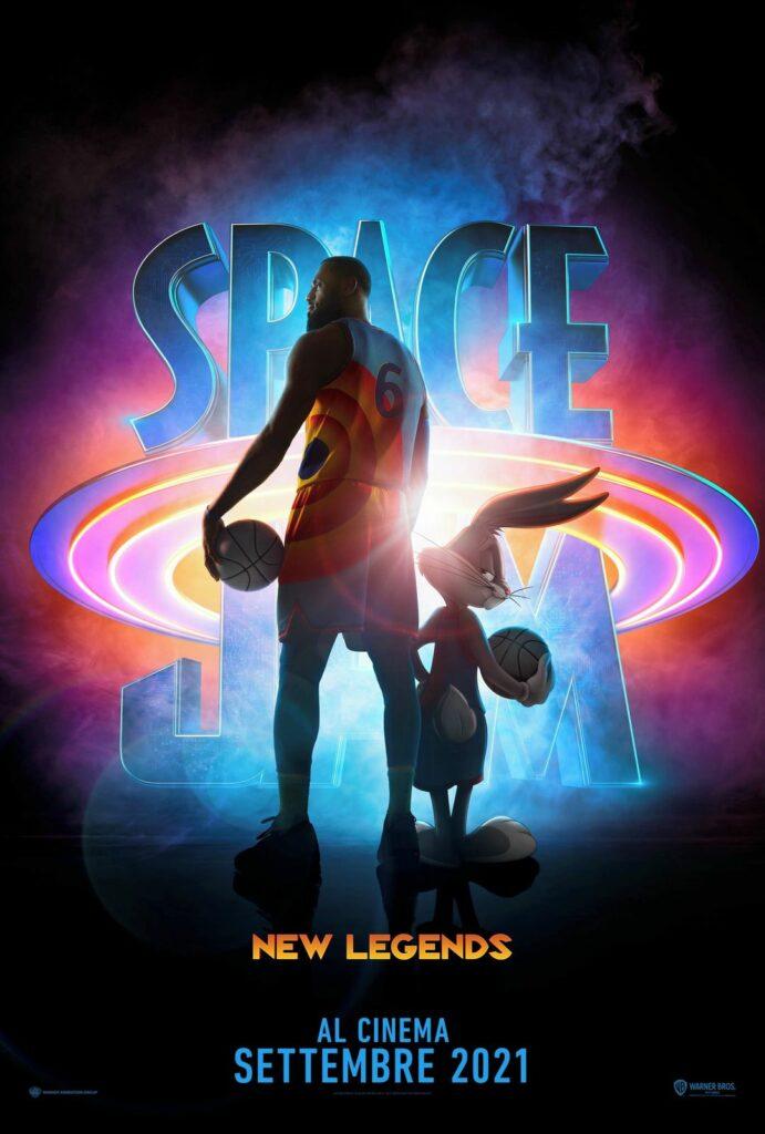 Space Jam 2 A new Legacy Legends uscita italia cinema
