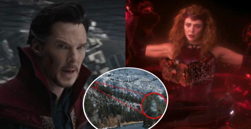 WandaVision scena post-credits aggiunto Doctor Strange o Visione Bianco, ma potrebbe trattarsi di un errore di montaggio nell'ultimo episodio della serie TV Marvel Studios su Disney+