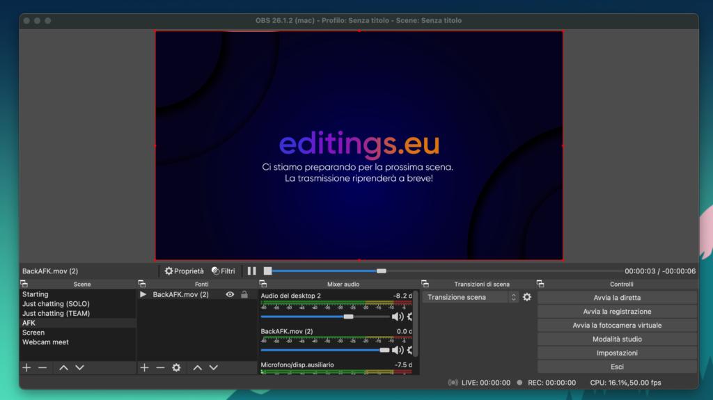 Recensione OBS Studio, il software Open source utilizzato per le dirette su Twitch e YouTube. Cos'è OBS Studio?